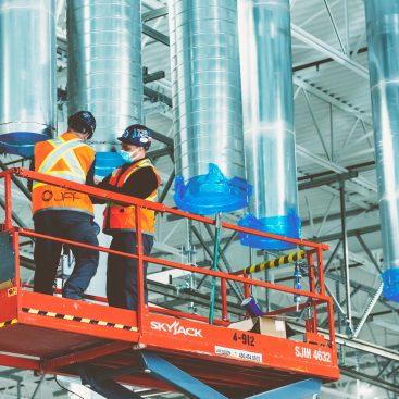 climatisation JFP installation conduits ventilation