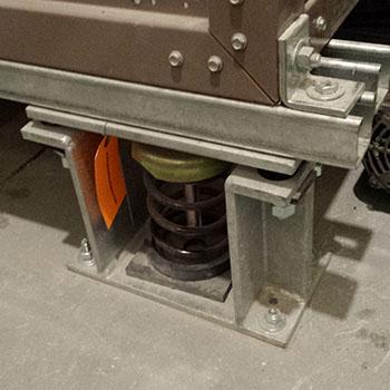 ressort sismique anti-vibration